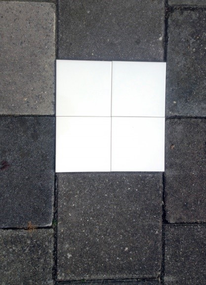 Straat Tegels 30x30.Nvon Proef 2 3 Oppervlakte En Tegels